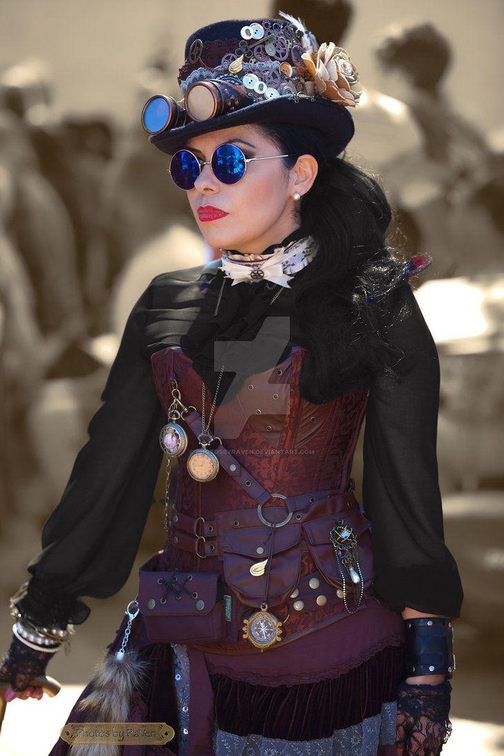 Les 941 meilleures images du tableau steampunk v tements sur pinterest mode steampunk couture - Steampunk style vestimentaire ...