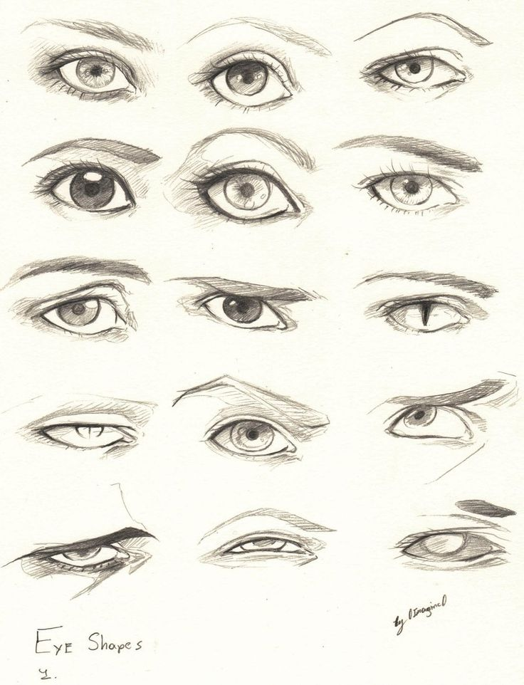 Eyes 1 Reference by 0ImagInc0