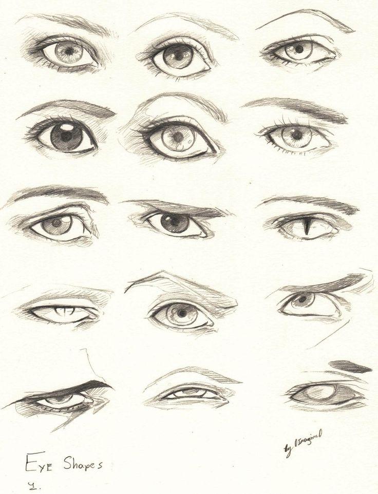 Eyes 1 Reference by 0ImagInc0.deviantart.com