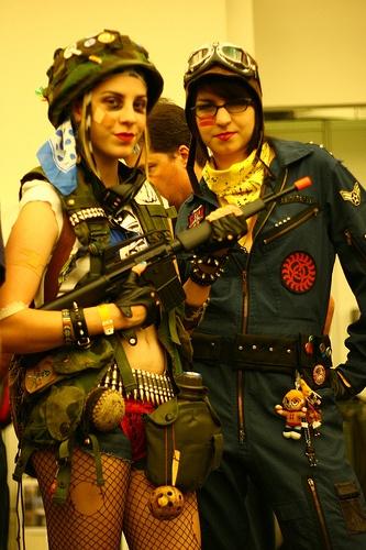( Tank Girl cosplay )
