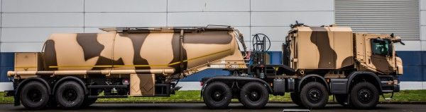 Scania Eurosatory 2016