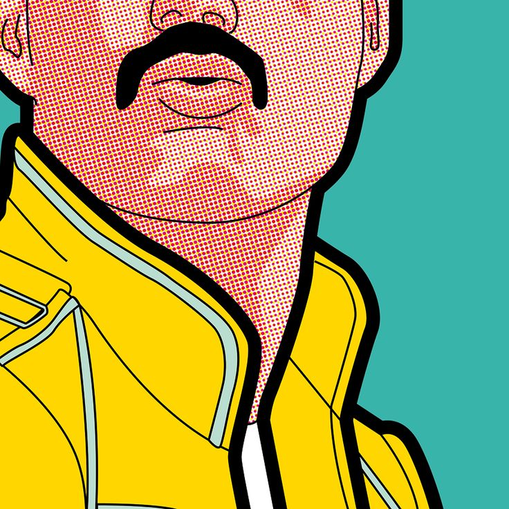 "greg-leon:  ""Pop Music… Tribute to great Freddie  """