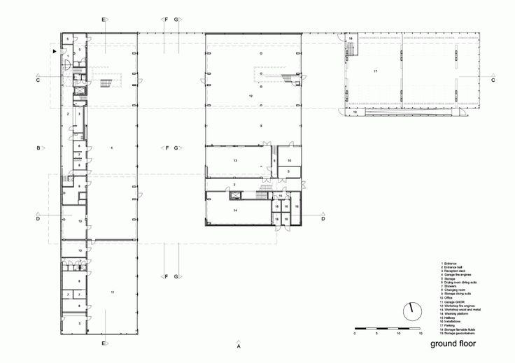 Fire Station Dordrecht / René van Zuuk Architekten