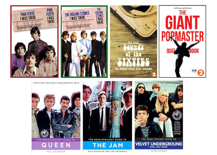 Win a selection of great music books covering The Stones, Queen, Pink Floyd, The Velvet Underground and many more!