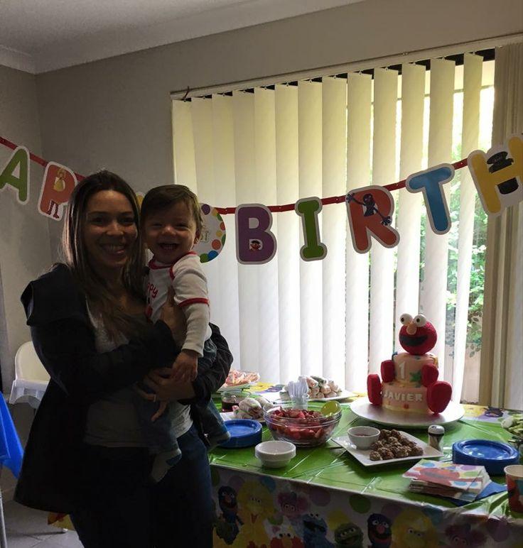 First Birthday Cake Elmo