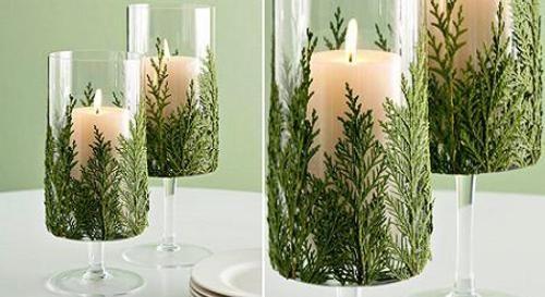 velas-decoradas-con-ramas-para-navidad