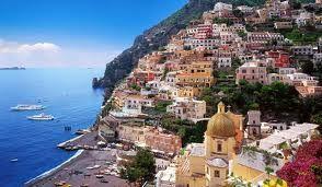 Positano ( Amalfi - kysten , Italy )