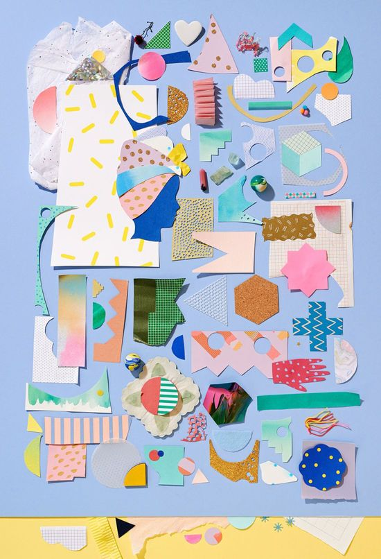 poster: Candy Colors, Beciorpin, Pastel Colour, Colors Home, Collage Wall, Geometric Design, Paper Crafts, Paper Collage, Colors Inspiration