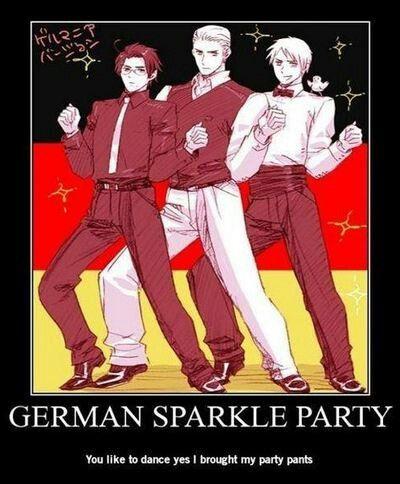 German Sparkle Party X)
