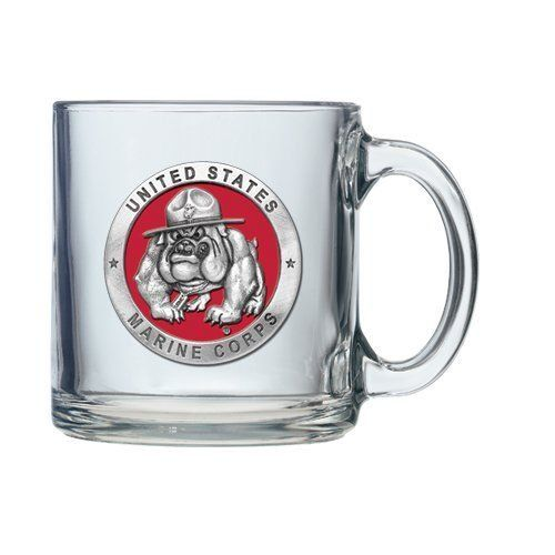 United States Marine Corps USMC Bulldog Clear Coffee Mug Set >>> Check out the image by visiting the link.