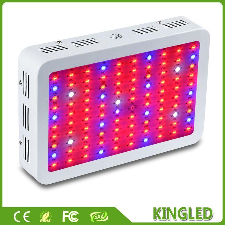 KingLED 1000 W Doble 410 730nm Chips LED Crece La Luz de Espectro Completo Para Plantas de Interior y Flores Frase, muy Alto Rendimiento en Luces de Crecimiento de Iluminación en AliExpress.com | Alibaba Group