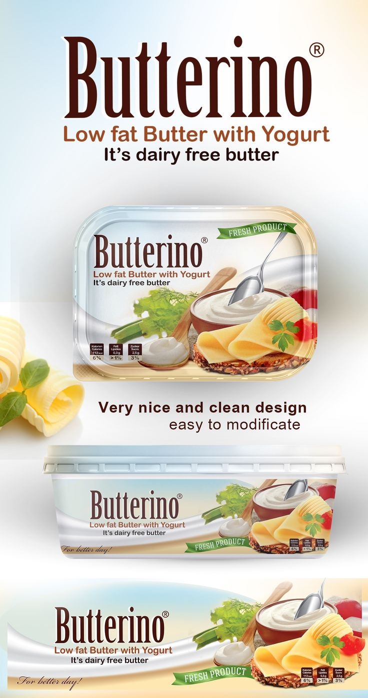"Check out my @Behance project: ""Butter packaging design template"" https://www.behance.net/gallery/54299837/Butter-packaging-design-template"
