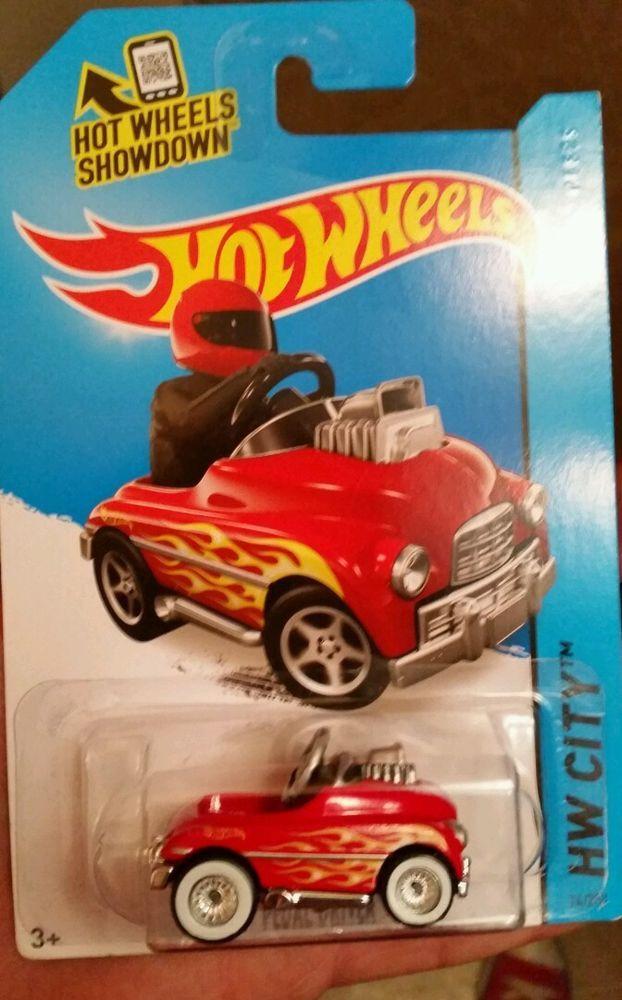 hotwheels 2015 super treasure hunt pedal driver pedal car very rare variation - Rare Hot Wheels Cars 2015
