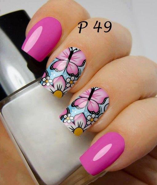 Onde comprar: https://adesivosdeunhasepeliculas.com/produto/adesivos-de-unhas-pintura-de-flores-rosa-p49/?wpam_id=64