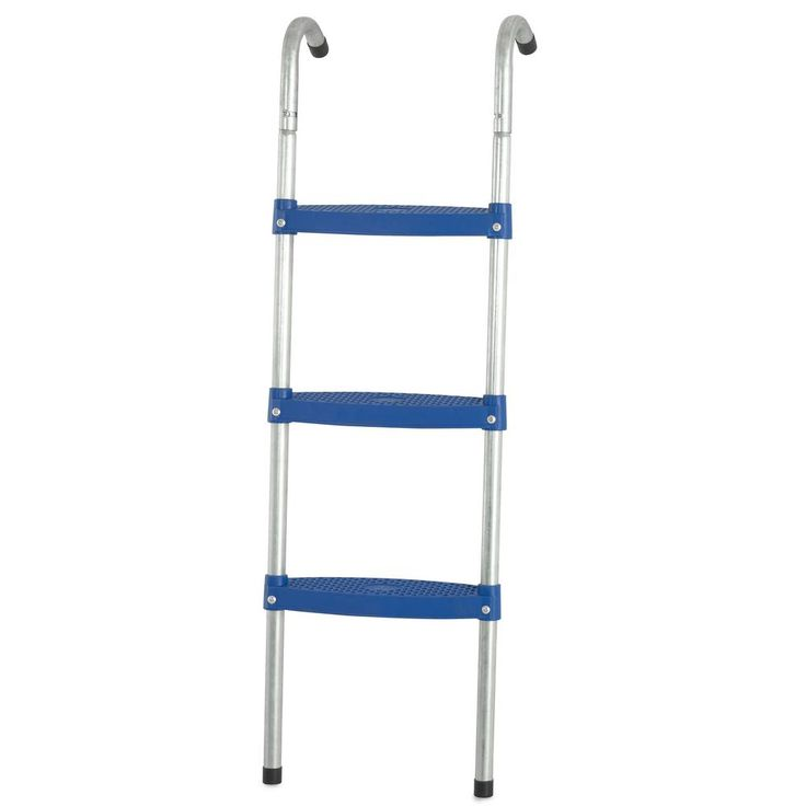 39 in. Trampoline Ladder with 3 in. Wide Flat Step