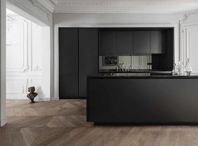 Afbeeldingsresultaat voor next keuken deur zwart interior