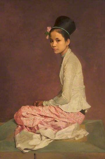 Saw Ohn Nyun IV, 1932-44 by Sir Gerald Kelly (1879-1972)