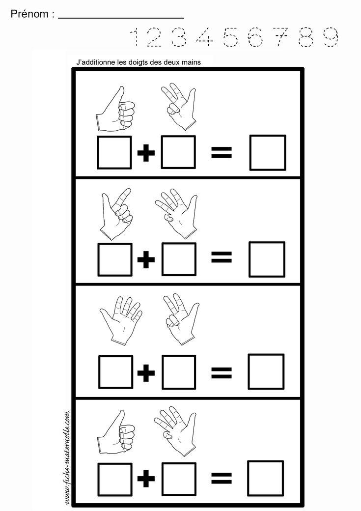 Mathématiques : ADDITIONNER des quantités maternelle et cp