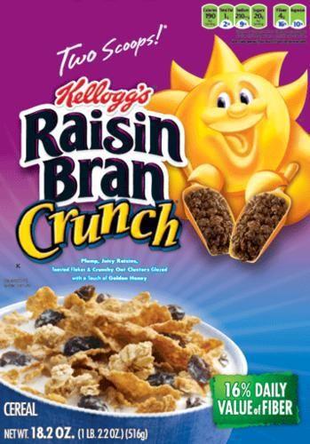 Raisin Bran Crunch Just $1.25 Each At CVS!