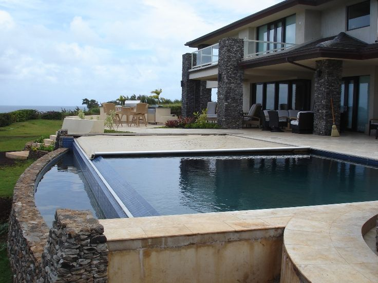 Aquamatic S Hydramatic Pool Cover Works For Negative Edge