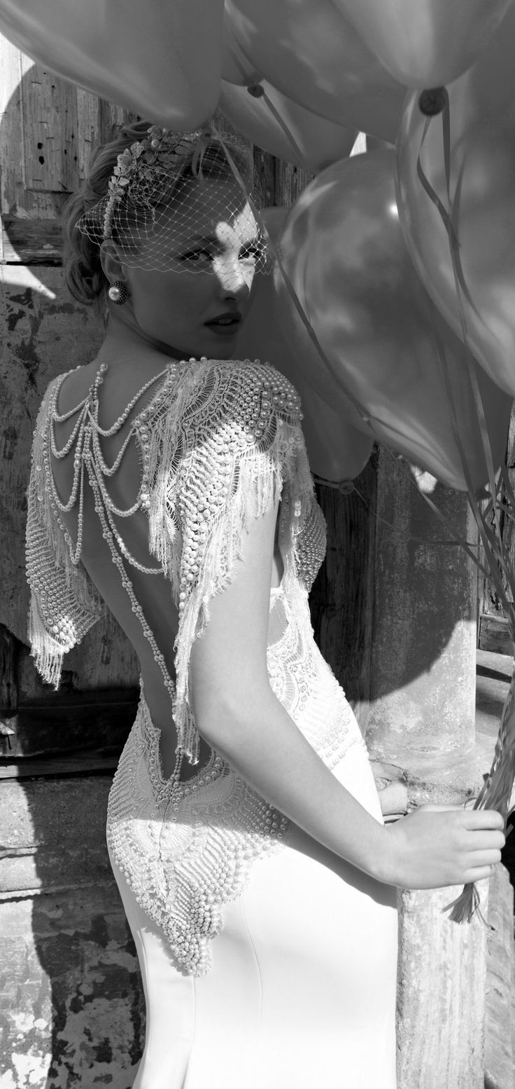 Pearl from Homage to the Sizzling 1920s #Wedding #Fashion #Quality