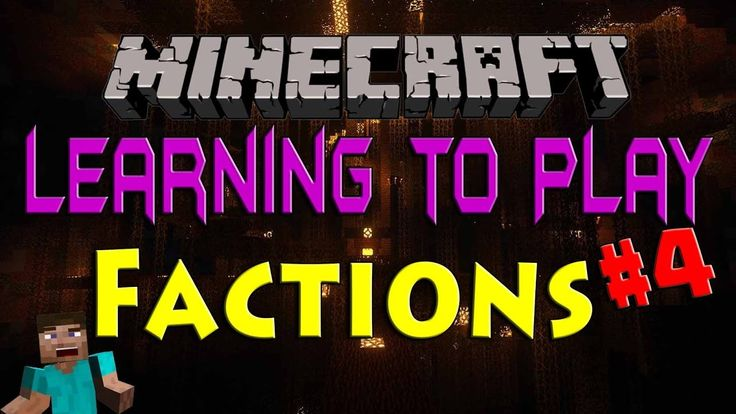 Minecraft Factions - Learning the Basics #4