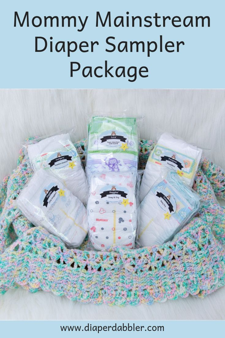 Mommy Mainstream Diaper Variety Pack - Diaper Dabbler