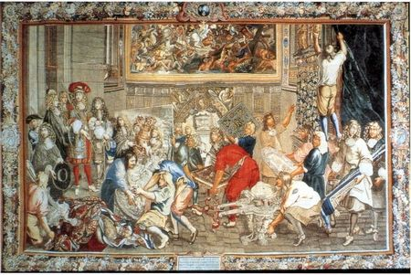 Le Brun en de Gobelins. Wandtapijten. Versailles. Lees meer..