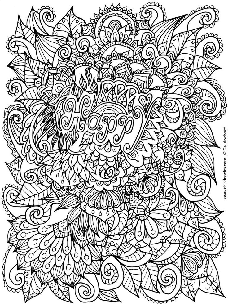 find this pin and more on mandalas happy colouring page by welshpixie