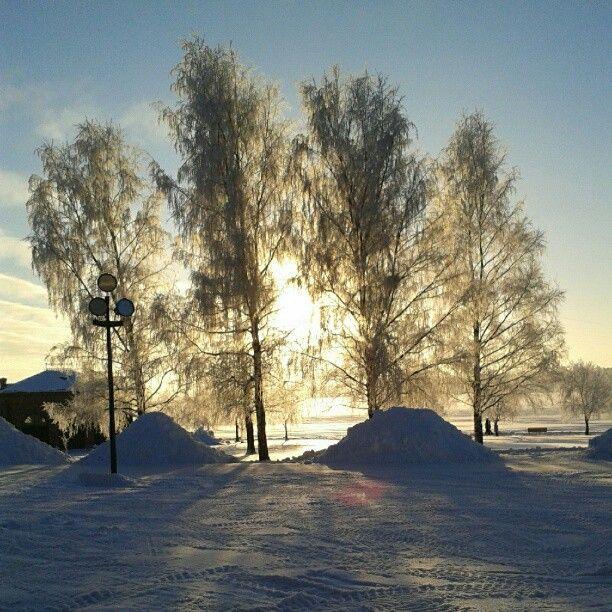 """""""Pakkasaamu kampuksella"""", photographer: annnselmi"""
