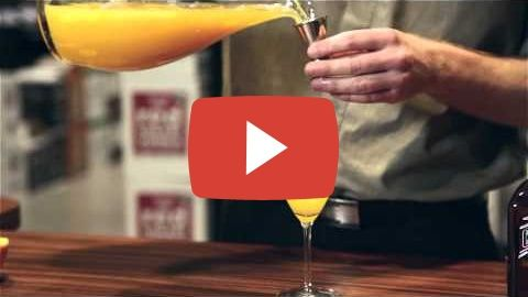 HOW TO MAKE - MIMOSA COCKTAIL