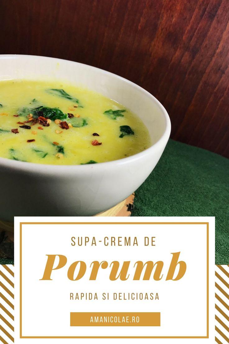 Supa-crema de porumb