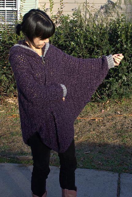 Cuffed Shawl Crochet Pattern