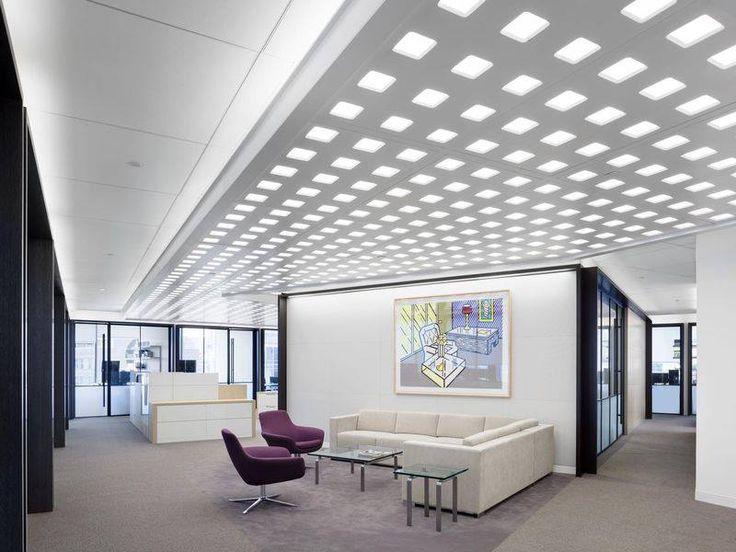 Perceptive Advisors  Designer: Nelson    #perceptiveadvisors #office #nelson #tagwall #industrialsash #interiordesign #officedesign #walldesign #workspaces