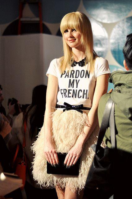 Kate Spade F/W 2012: Fashion Style, Fashion Week, Outfit, Prints Tees, New York Fashion, Ny Fashion, T Shirts, Kate Spade, Katespade