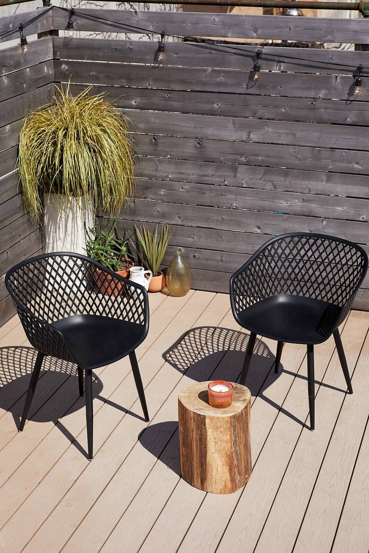 wicker balcony set on 27 space saving outdoor furniture pieces made for your tiny patio outdoor chair set outdoor chairs small outdoor patios space saving outdoor furniture pieces