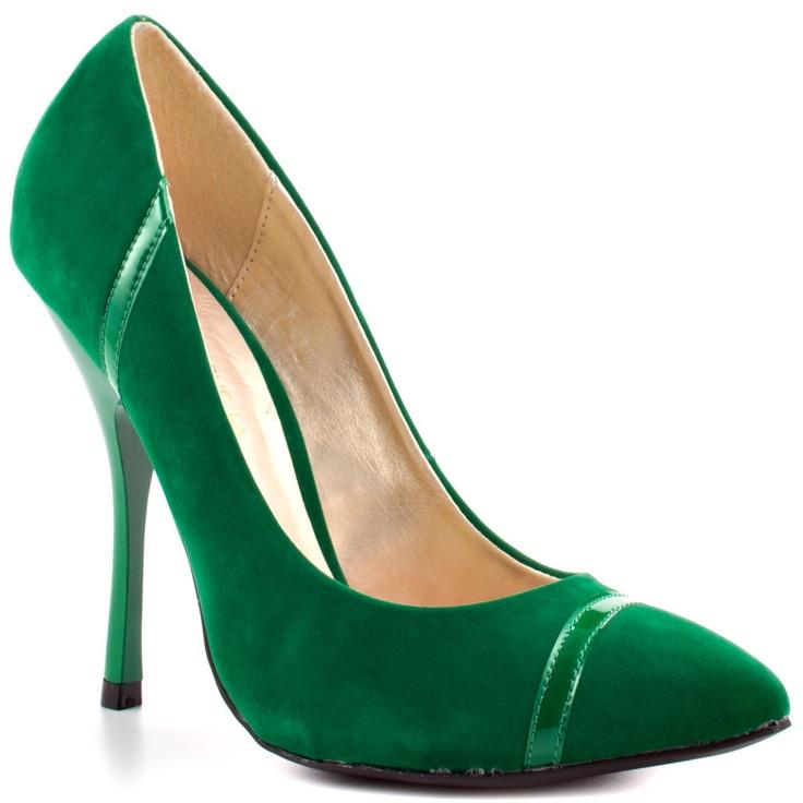 Shoe Republic Women's Silva – Jade Nubuck PU #green #fashion