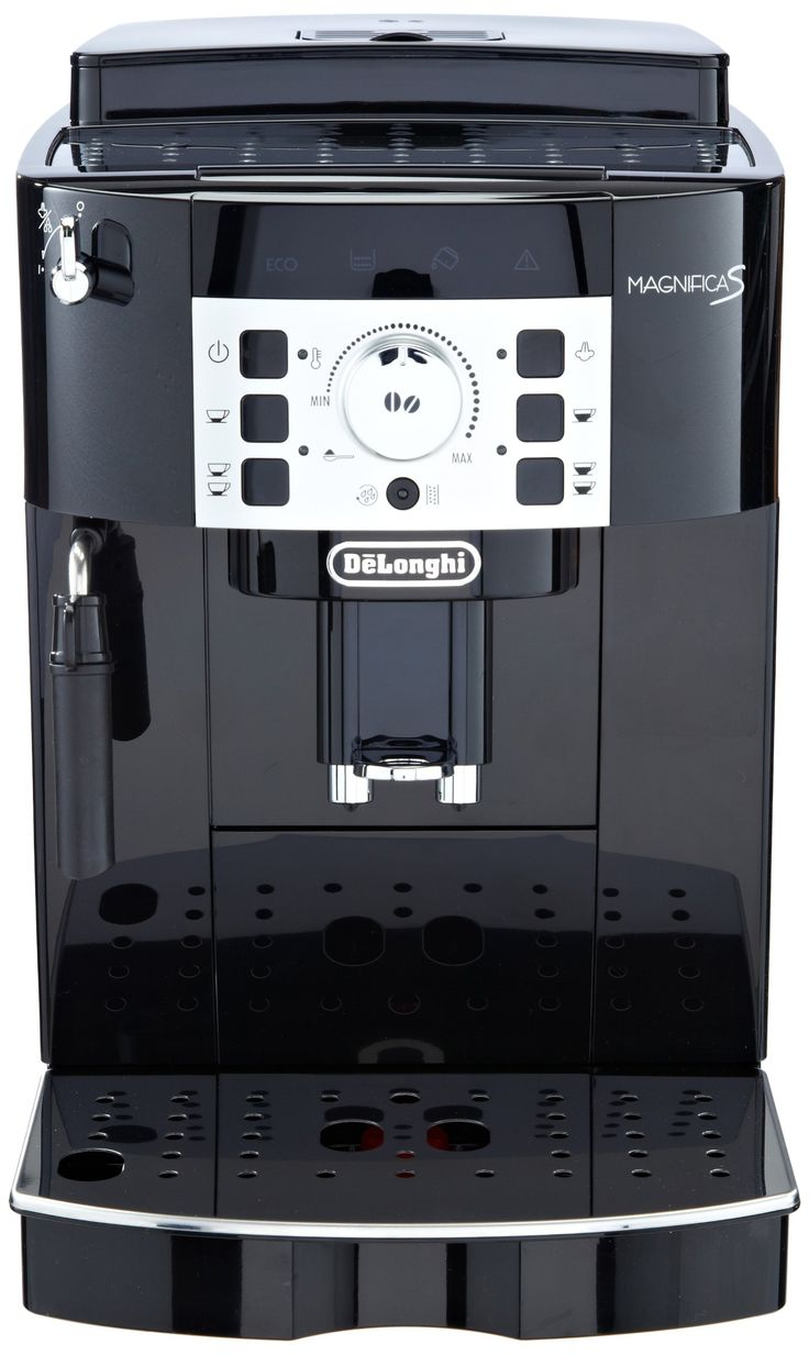 Amazon.de: DeLonghi ECAM 22.110.B Kaffee-Vollautomat (1.8 Liter, 15 bar, 1450 Watt, Dampfdüse) glossy black