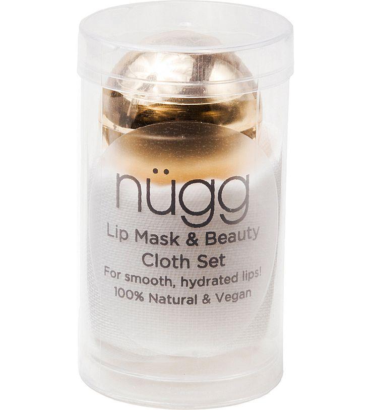 NUGG Lip mask and beauty cloth set £13.00