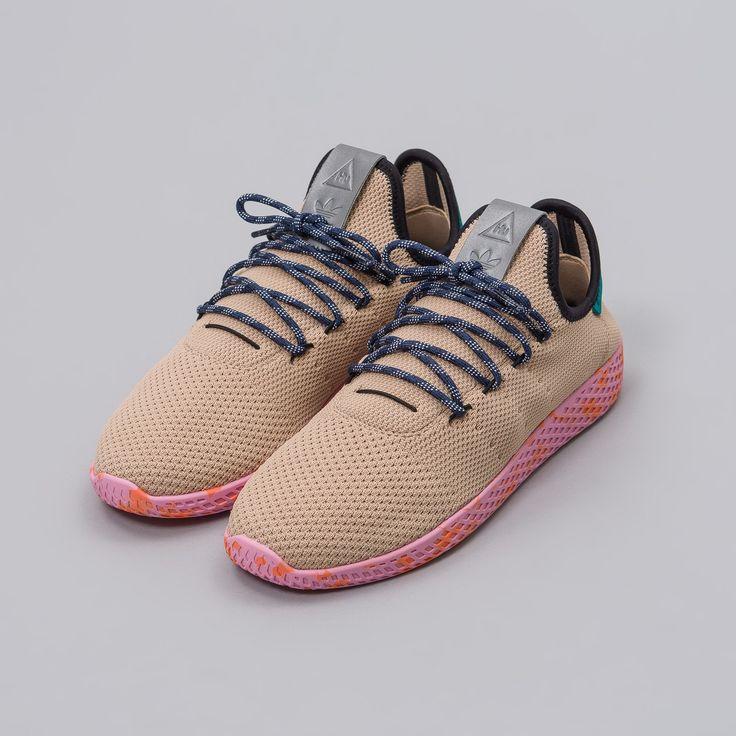 Znalezione obrazy dla zapytania adidas pharrell williams beige buty