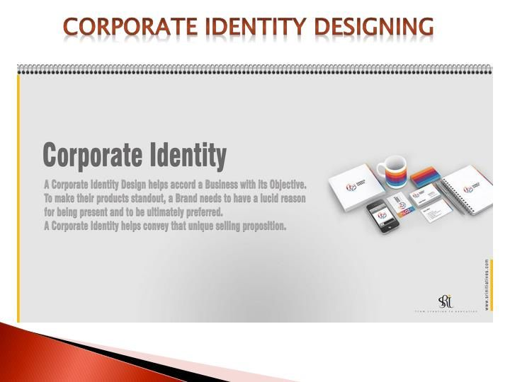 A corporate identity designing helps accord a business with its objective. To make their products standout, a brand needs to have a lucid reason for being present and to be ultimately preferred. A corporate identity helps convey that unique selling proposition.