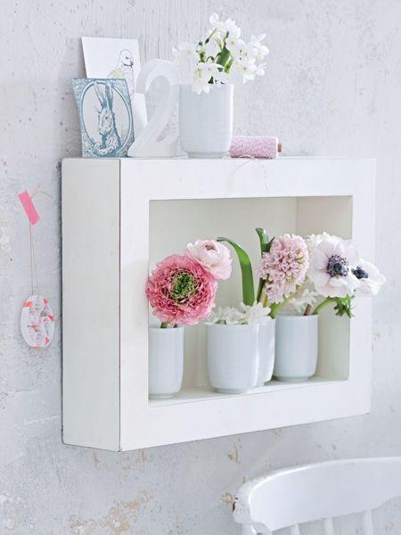 Die perfekte Präsentation für Blumen: Ein Bilderrahmen!