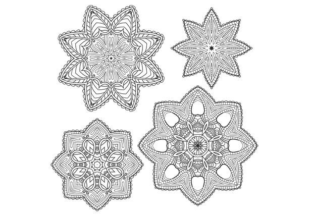 74 best images about coloriages pour adultes on pinterest - Mandalas adultes gratuits ...