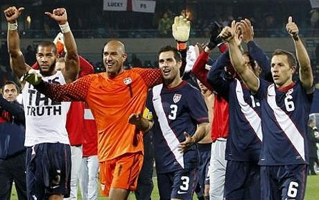 World Cup 2010: Tim Howard rates Fabio Capello's men as group ...