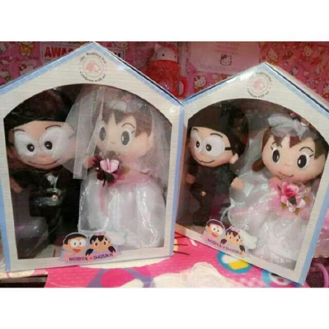 boneka wedding nobita shizuka, t.30cm, harga = 420.000  pemesanan & info  pin = 7E6B210D & 2B04DD91 line id = koleksihellokitty WHATS APP = 087823131666 ym = koleksi_hellokitty  fan page https://www.facebook.com/koleksihellokitty website http://callistaholic.blogspot.com/ instagram @angelcallista twitter https://twitter.com/hellokitty_gift #doraemon#nobita#shizuka#wedding