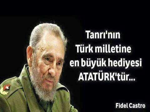 God's greatest gift to Turks is Ataturk