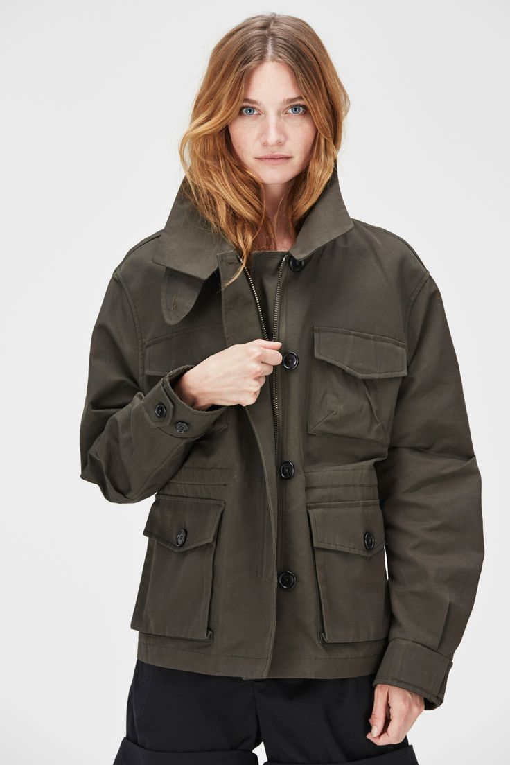 "Hope | SS16 ""Command Coat""- http://hope-sthlm.com/command-coat-khaki-green"