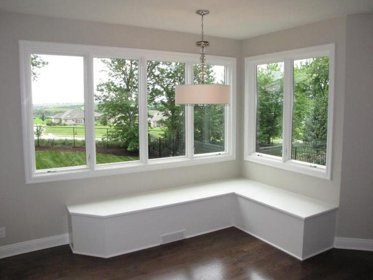 Corner bench seating