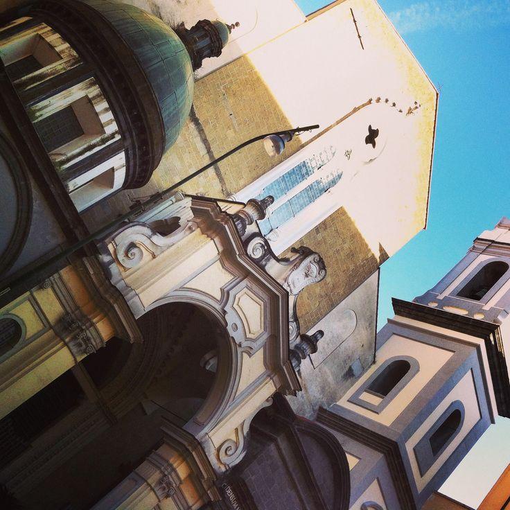Napoli - Facciata San Domenico Maggiore