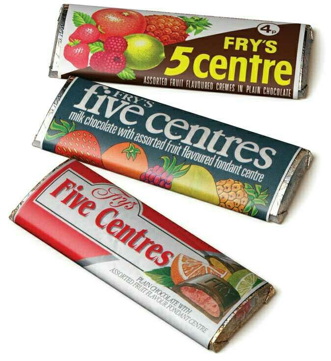 Fry's five centres